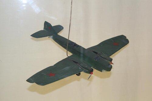 Самолёт ТБ-1 со стартовыми ускорителями. М 1:72