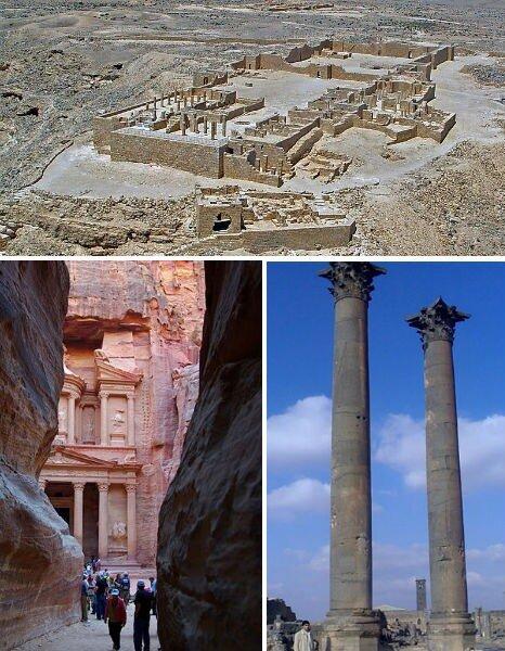 набатейская империя, петра, исчезнувшие цивилизации