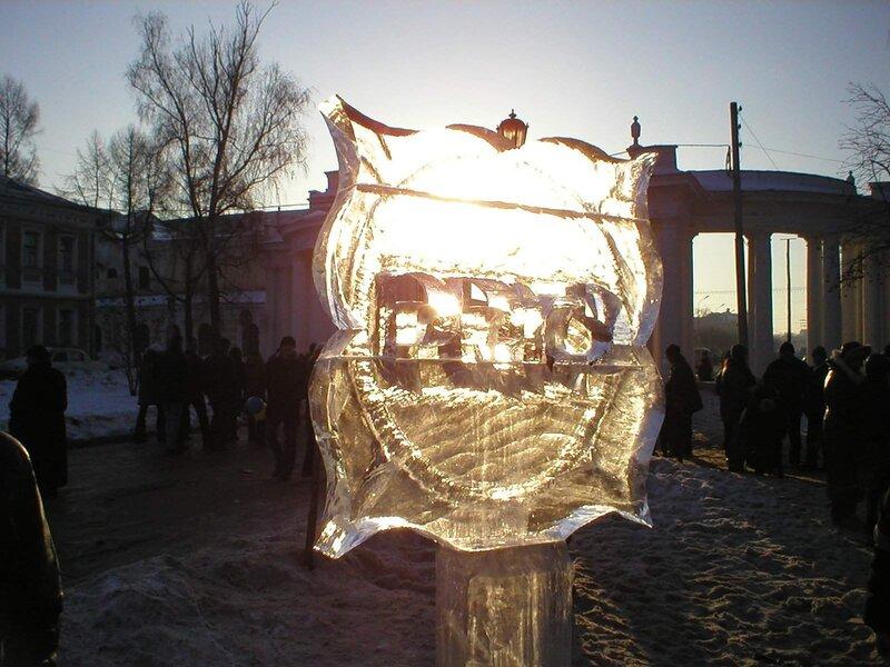 Первый рязанский фестиваль ледяных скульптур (2003 год)