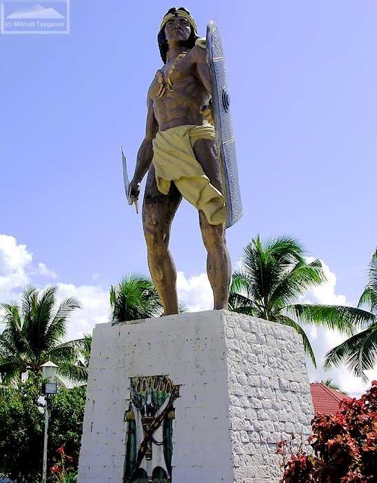 Памятник Лапу-Лапу в Себу