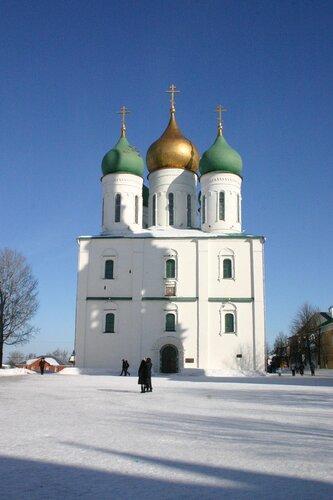 Успенский собор коломенского кремля