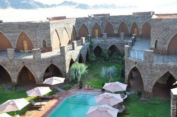 Отель Le Mirage Desert Lodge&Spa. Наибия