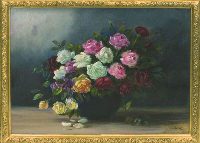 Катарина Кляйн.  Розы.