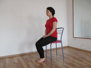 Сидение на стуле