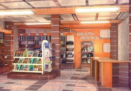 Визуализация книжного магазина