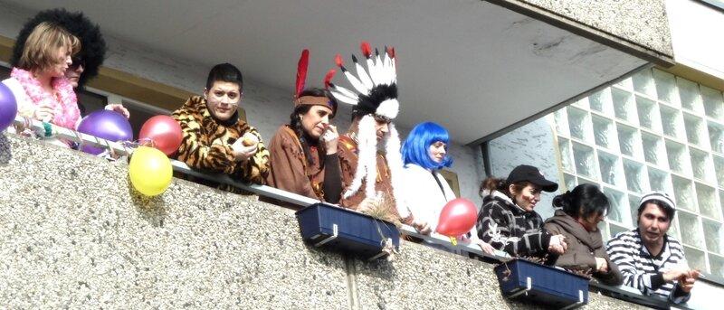 зрители с балконов