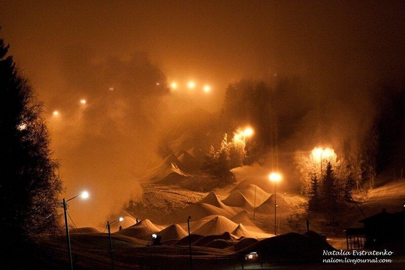 Зимняя сказка: шведский горнолыжный курорт Falfj?llet