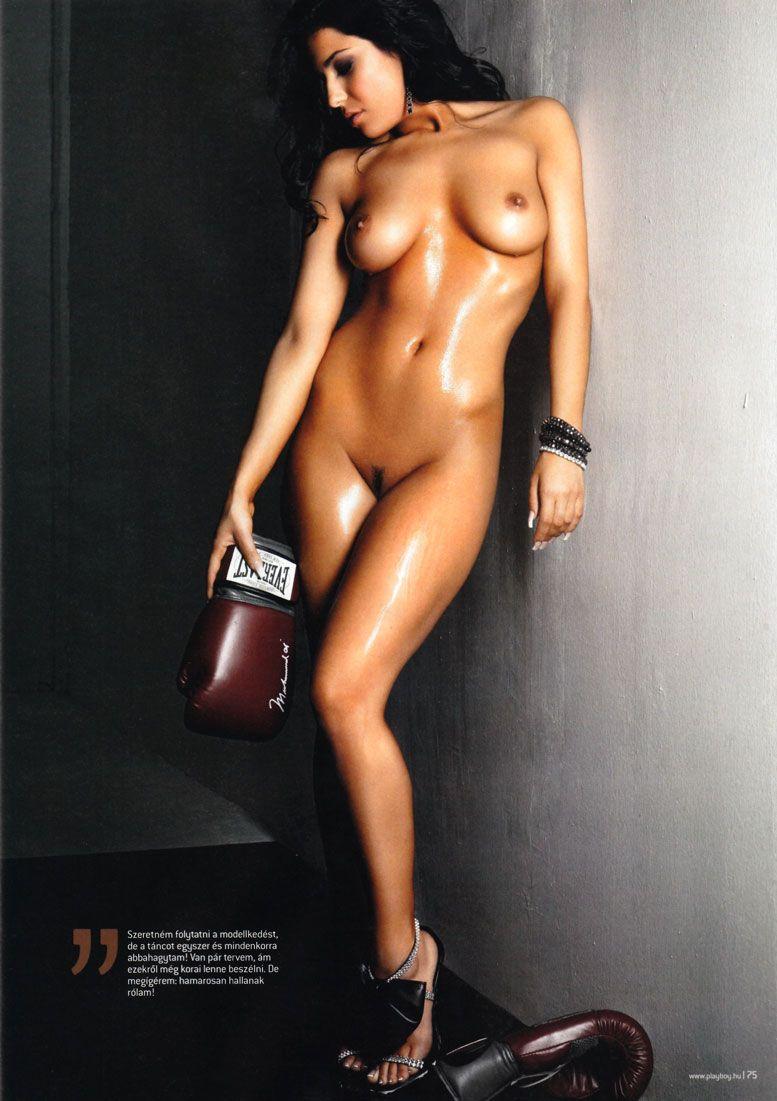 Marki Zsuzsi in Playboy Hungary february 2011