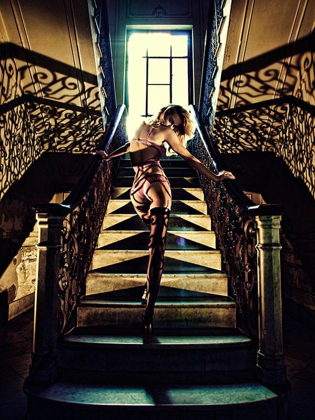 Надин Шриттматтер / Nadine Strittmatter for Wild Orchid spring 2011