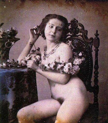 старинные фото голых женщин