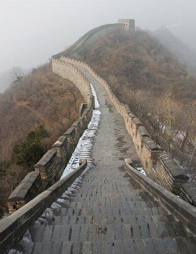 Не туристическая китайская стена