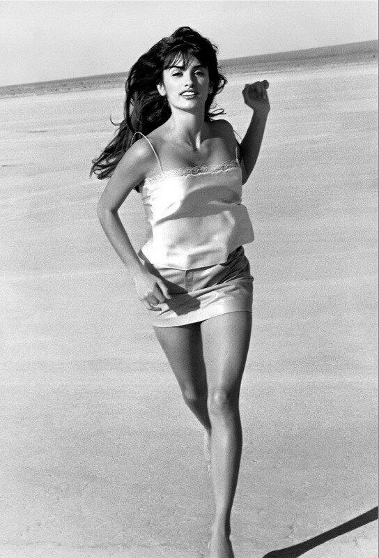 Photographer Herb Ritts.Penelope Cruz
