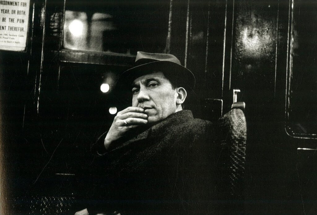 Walker Evans, The Passengers, New York, 1938