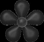 black flower 2