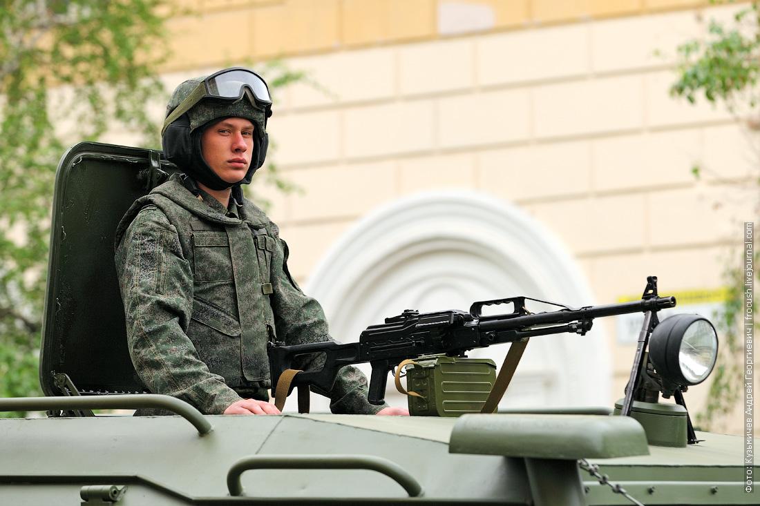 ГАЗ-2330 Тигр репетиция парада Победы в Волгограде