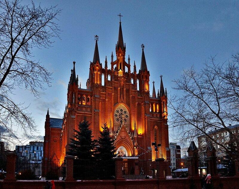 .... Римско-католический Кафедральный собор Непорочного Зачатия Пресвятой Девы Марии