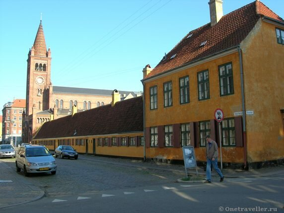 Дания. Копенгаген. Лютеранская кирха.