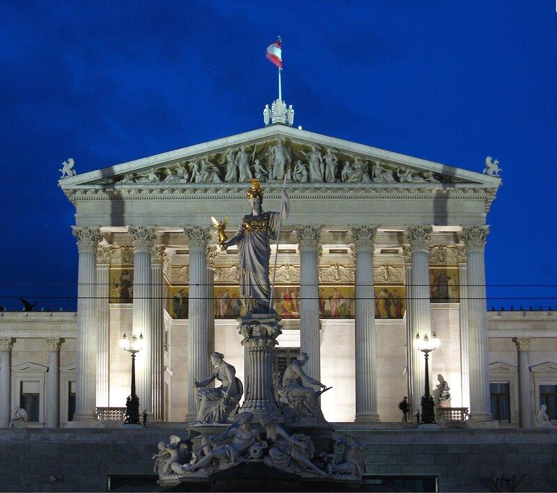 Здание Парламента Австрии, Вена