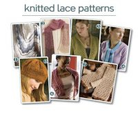 Журнал Knitting Lace: 7 Free Knitted Lace Patterns jpg 52Мб