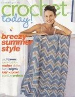 Журнал Crochet Today, July/August 2007 Issue jpg 27,5Мб