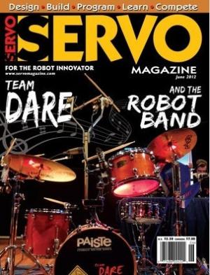 Журнал Журнал Servo Magazine №6, 2012