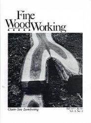 Журнал Fine Woodworking №8 Fall 1977
