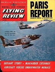 Журнал Royal Air Force Flying Review №8 1963