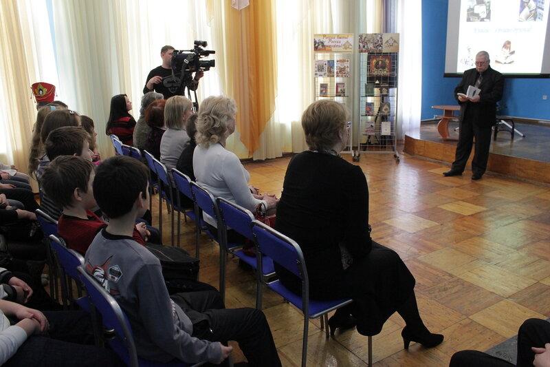 Открытие фестиваля 'Радостное чтение' (Саратов, 20.03-02.12).