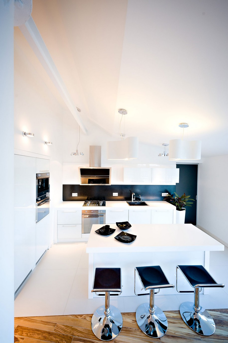 Квартира-студия в Кишиневе от Grosu Art Studio