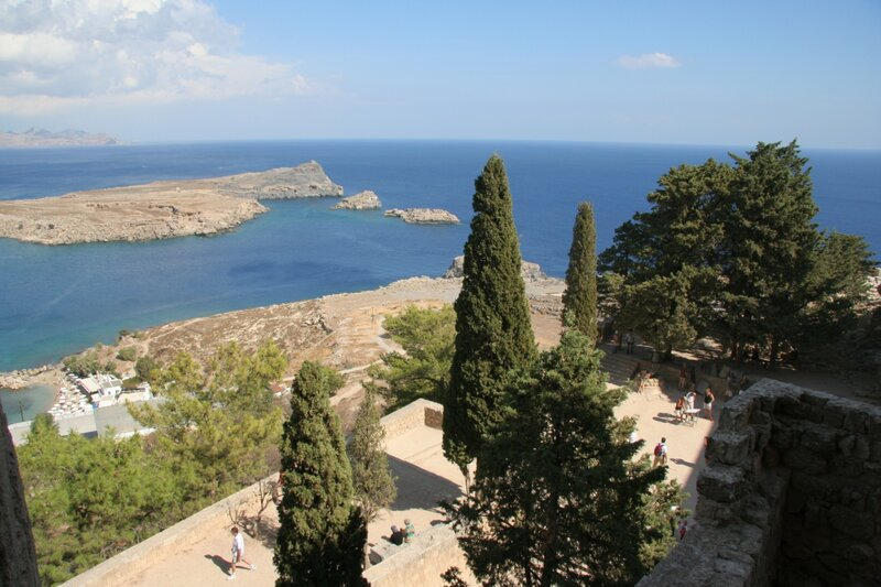 Средиземное море в Линдосе