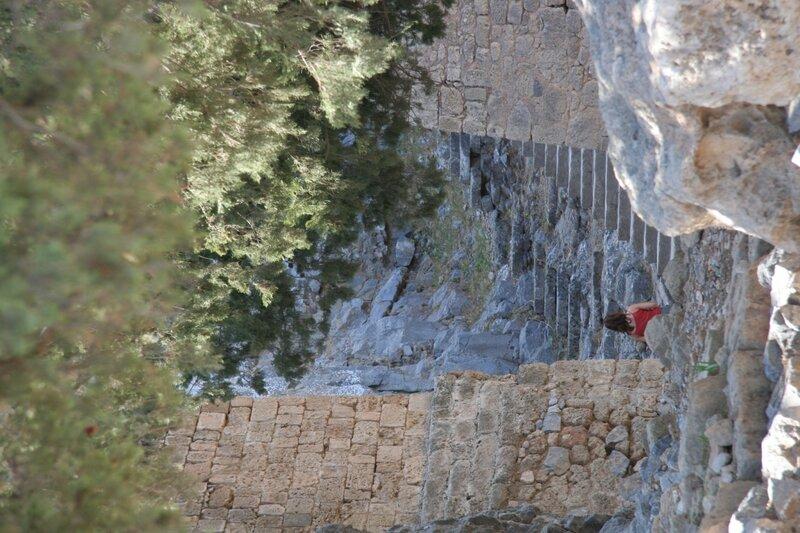 Старые стены Линдоса