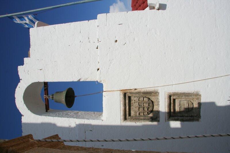 Звонница храма Богородицы в Линдосе
