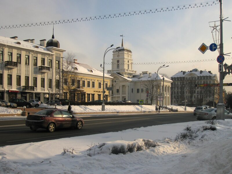 Ратуша Минска на площади Свободы