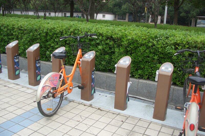 Аренда велосипедов, Пекин
