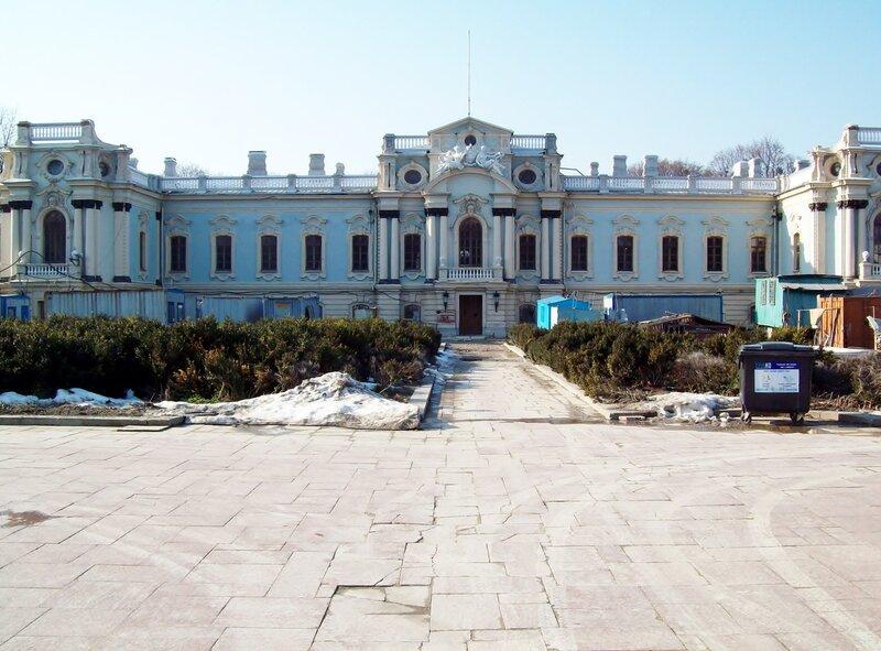 Мариинский дворец на реконструкции