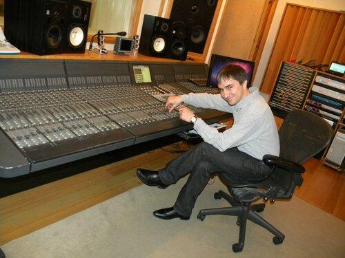 В студии А