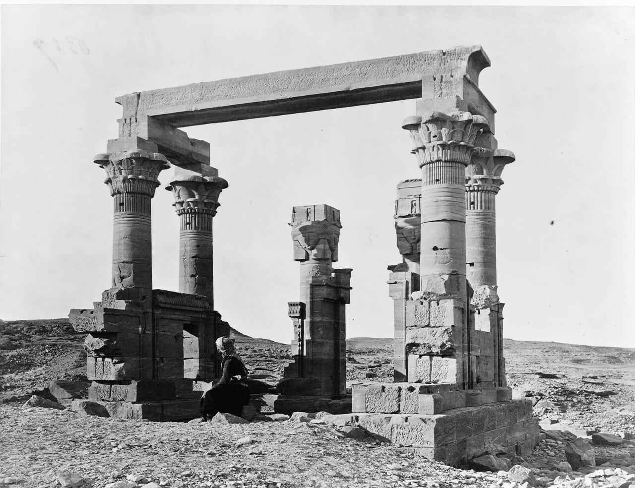 Вади Кардасси. Руины храма