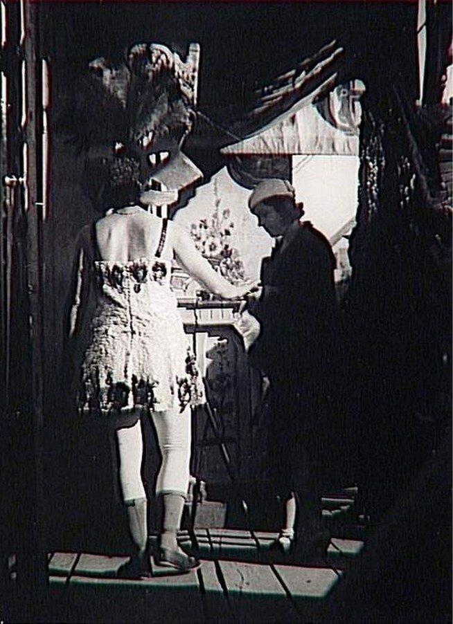 1932. Кассир цирка Фанни