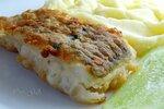 Пюре с кусочком рыбы