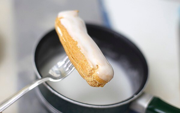 тесто на эклеры рецепт с фото пошагово