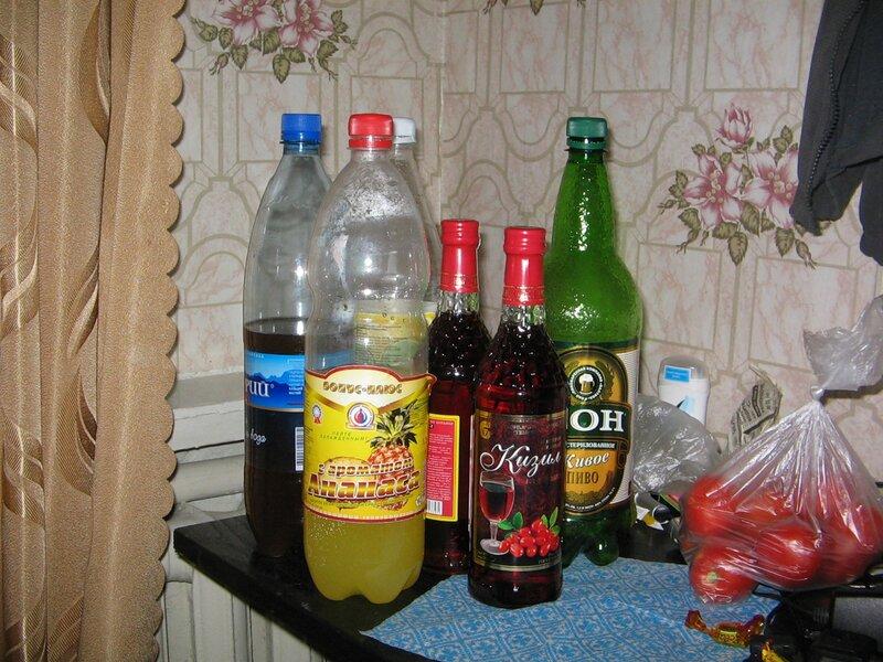 Напитки от жажды и сугрева.