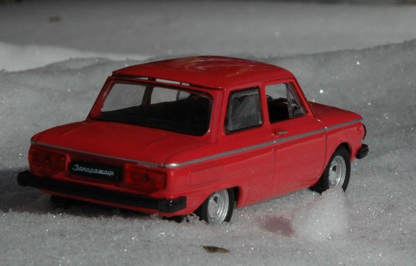 Автолегенды СССР: выпуск номер 53 - ЗАЗ-968М - опора продовольственной программы