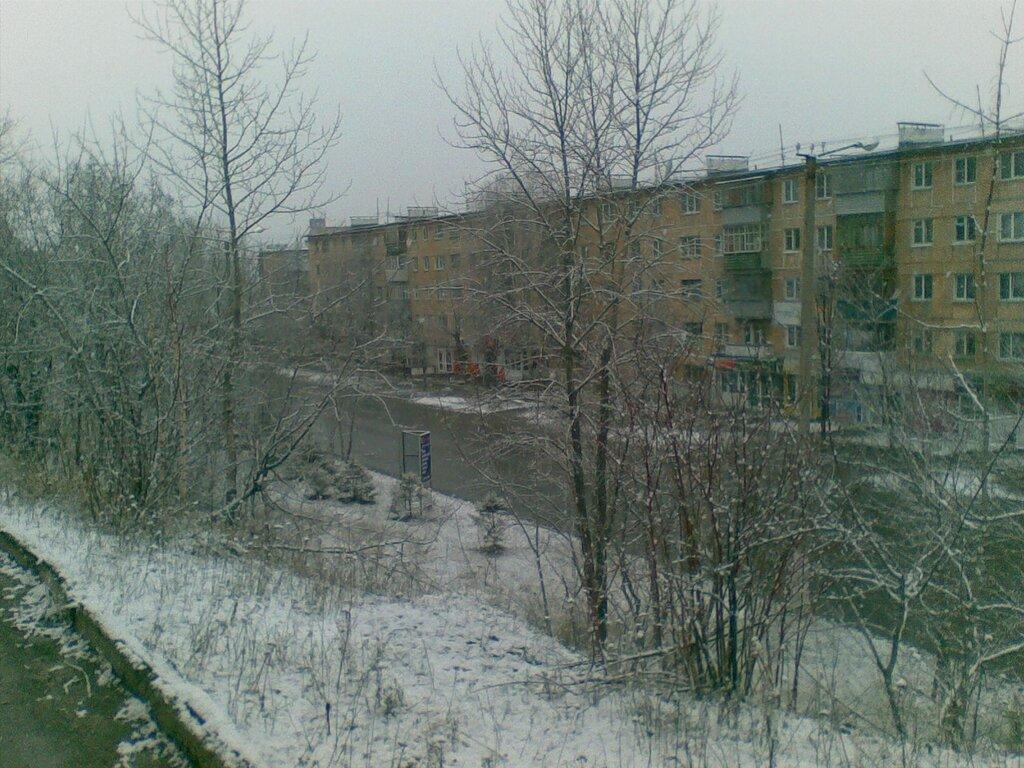 Златоуст. Апрель. Снег