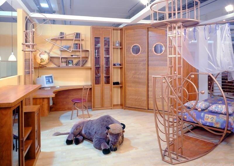фото Модульная детская комната Атлантида-1, Россия.