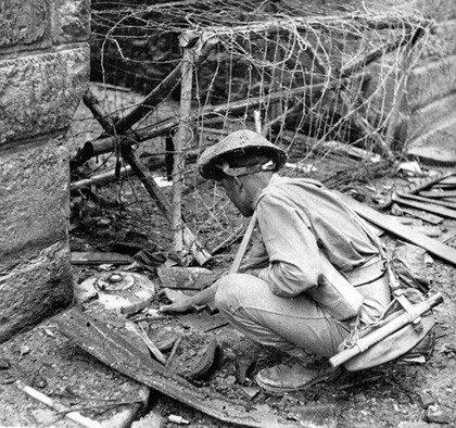 firenze 1944 Soldato Inglese