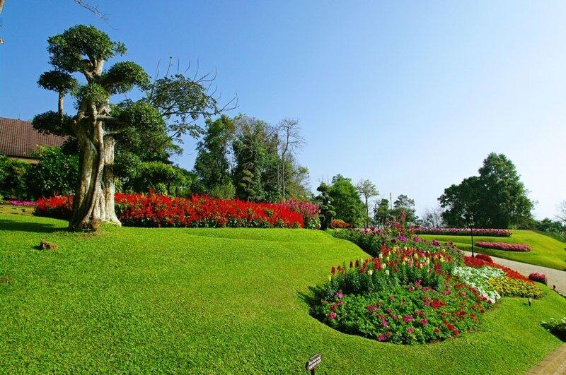 Mae Fa Luang Garden. THAILAND