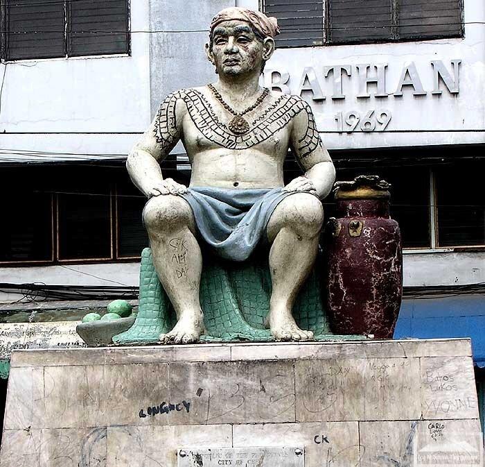 Памятник Хумабону в Себу