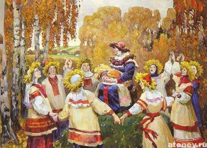 Языческие обряды на пасху