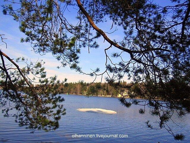 Лед тронулся, на финские озера пришла весна