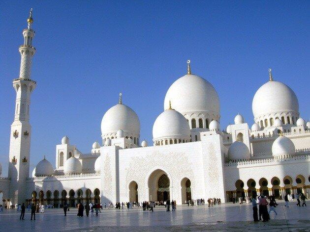 Мечеть шейха Зайда. Абу-Даби